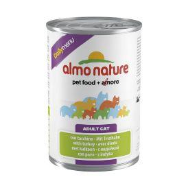 Almo Nature Daily Menu - консервы для кошек с индейкой 400 гр