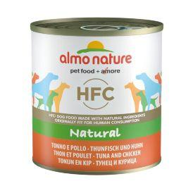 Almo Nature HFC Natural Tuna&Chicken - Консервы для Собак с тунцом и курицей