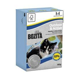 Bozita Outdoor & Active - Консервы для кошек в желе для Активных с лосем 190гр