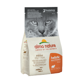 Almo Nature Adult Cat White Fish - сухой корм для кошек с белой рыбой