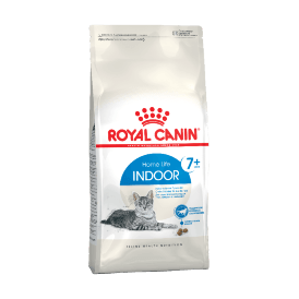Royal Canin Indoor 7+ - Сухой корм для домашних  кошек старше 7лет