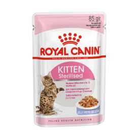 Royal Canin Kitten Sterilized - Паучи для котят после стерилизации (в желе)
