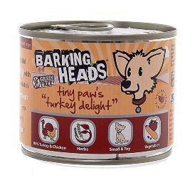 Barking Heads Wet Tiny Paws Turkey Delight - Консервы для собак мелких пород с индейкой
