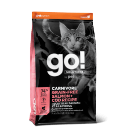 Go! Solutions Carnivore Salmon & Cod Cat - Сухой корм для кошек с лососем и треской