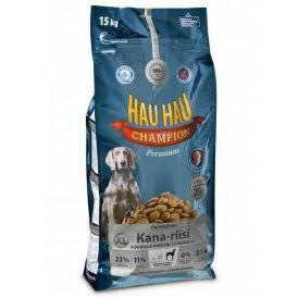 Hau-Hau Champion Large breed Dog Chicken - Сухой корм для Собак крупных пород 15 кг