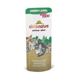 "Almo Nature Green Label Mini Food Chicken Fillet - Лакомство для кошек ""Куриное филе"" 3гр"