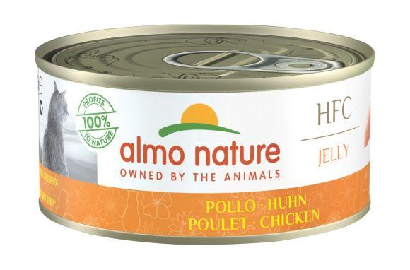 Almo Nature HFC Jelly Chicken - Консервы для Кошек с Курицей в желе 150гр