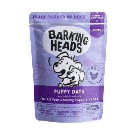 Barking Heads Puppy Days - Паучи для щенков с курицей 300гр