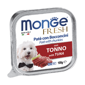 Monge Dog Fresh - Консервы для собак тунец 100г