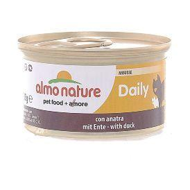 "Almo Nature Daily Menu Mousse with Duck - Консервы нежный мусс для кошек ""Меню с уткой"""